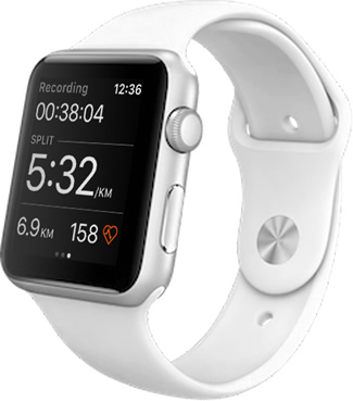 Strava появилась на Apple Watch Series 2