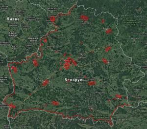 Новый Перечень зон в Беларуси, где запрещено использование авиамоделей