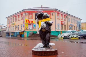 В Бобруйске бобер раздает бесплатный Wi-Fi